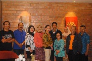 Reuni SLG '81 dan SLG '80 di Yogyakarta, Kamis (31/7/2014)